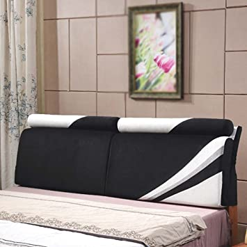 European Soft Padded Cushion Double Bed Head Washable Backrest Bedside Bag