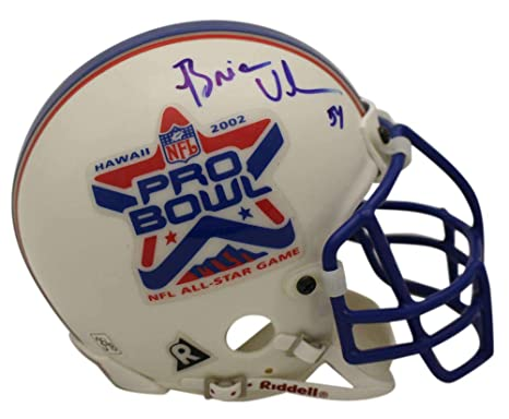 the latest eab63 316cd Amazon.com: Brian Urlacher Signed 2002 Pro Bowl Authentic ...