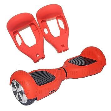FBSport 6.5 Pulgadas Funda Carcasa de Silicona para Smart Balance Wheel Self Balancing Scooter Múltiples Colores