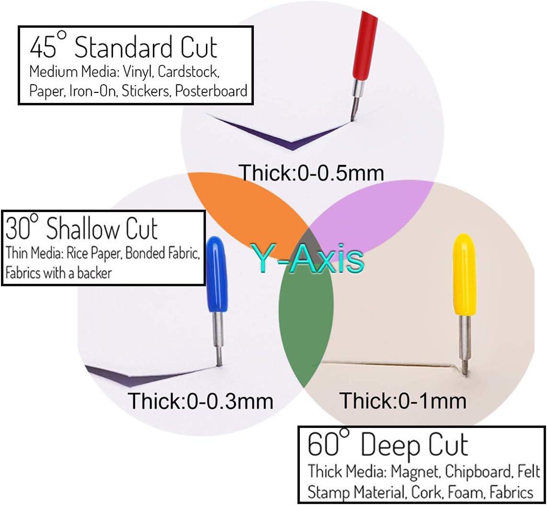 Standard Cut 45 Carbide Blades For Cricut Explore Air 2 Vinyl Cutting Machines