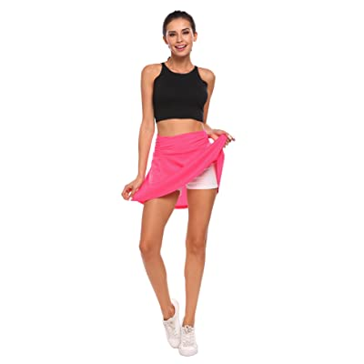 Active Sport Skirts with Built-in Short for Women Ladies