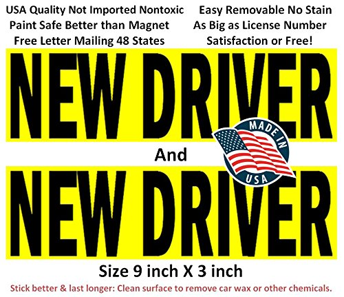 Premium sticker drivers removable drop off