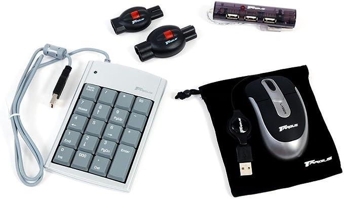 Targus BUS0057 Wired Laser Pack Notebook Bundle