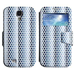 AADes Scratchproof PU Leather Flip Stand Case Samsung Galaxy S4 IV i9500 ( Dot Screens )