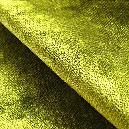 Loome Tabley Bowling Green Plain Green Velvet Upholstery Fabric