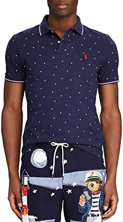 Polo Polo Ralph Lauren Estrellas Marino Hombre S Marino: Amazon.es: Ropa y accesorios