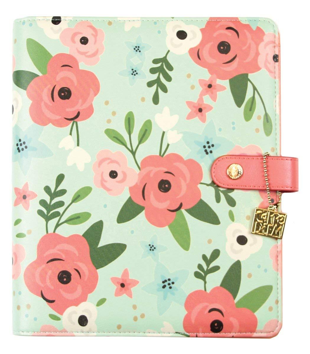Carpe Diem A5 Mint Blossom Planner Binder by Carpe Diem