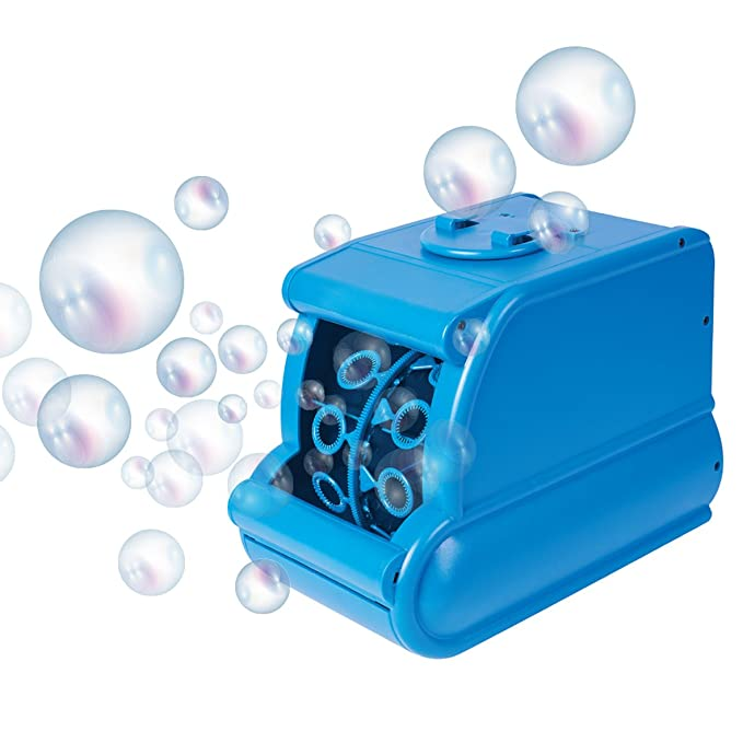 1 opinioni per Global Gizmos, macchina per bolle di sapone a batterie, 45410