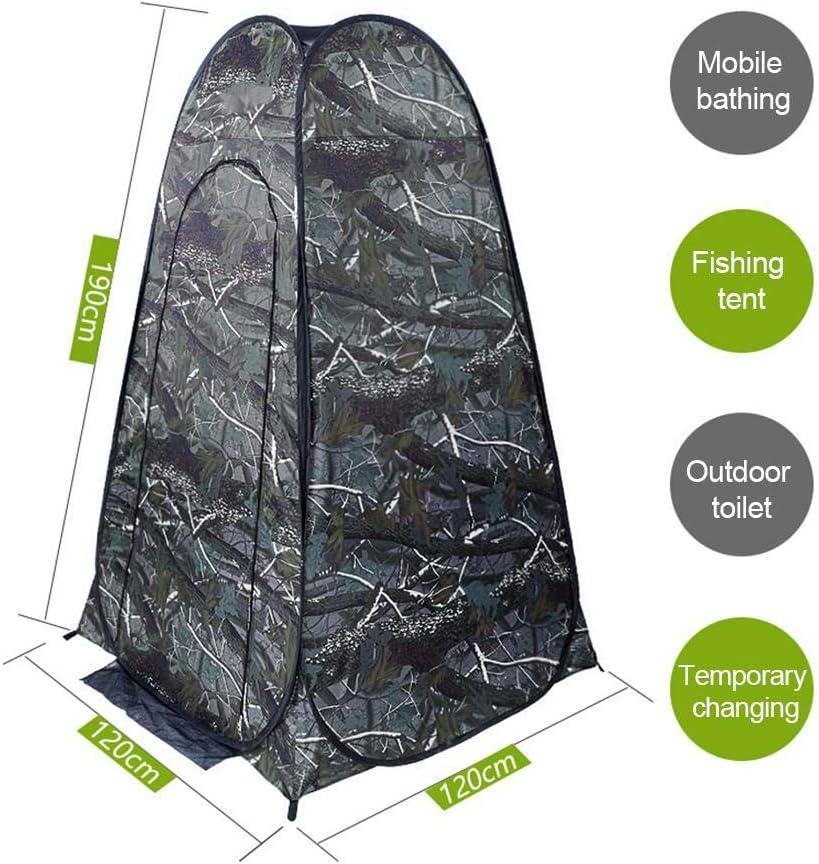 carpa de privacidad para vestuario emergente refugio de lluvia para camping y playa Carpa de ducha emergente carpa de campamento instant/ánea liviana y port/átil