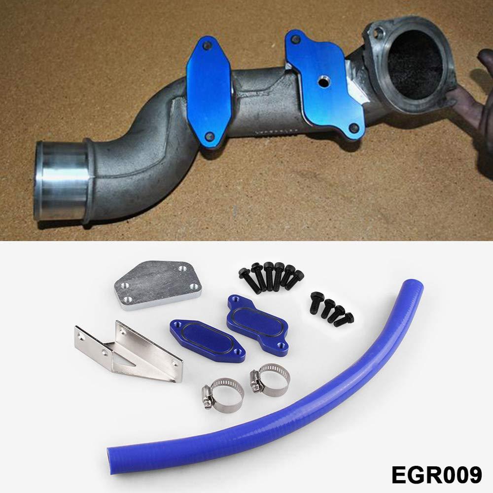 Ruien EGR Delete Kit for 04.5-05 GMC Sierra Chevy Silverado HD 6.6L Diesel LLY Duramax
