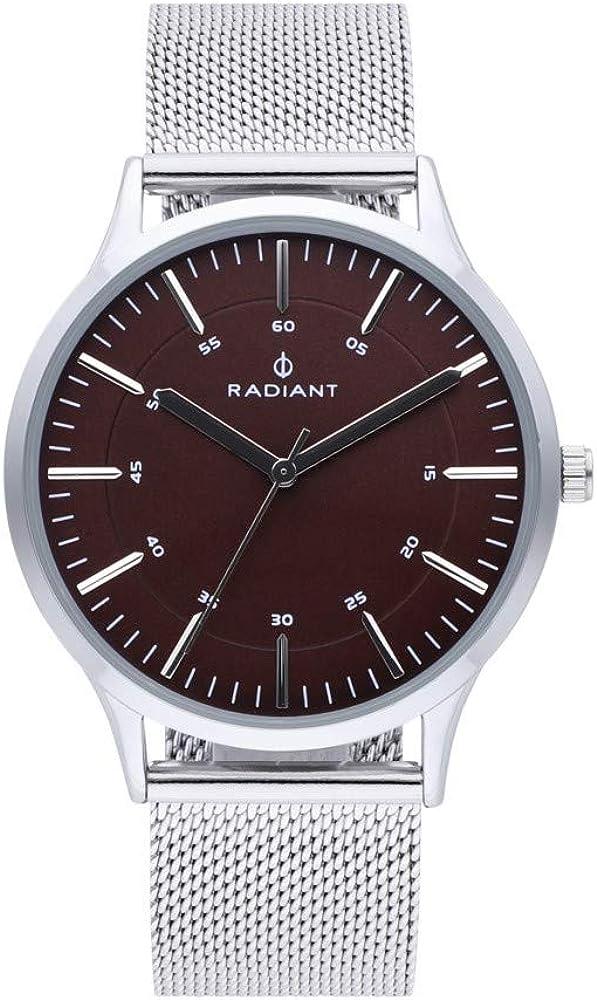 Radiant Roadster Reloj para Hombre Analógico de Cuarzo con Brazalete de Acero Inoxidable RA516602