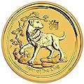 2018 AU Australia Gold Lunar Year of the Dog Kilo (32.15 oz) $3,000 Brilliant Uncirculated Perth Mint