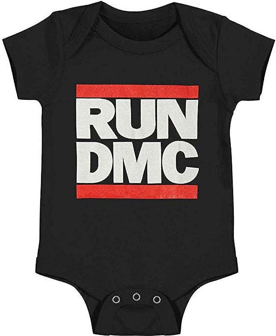 Run DMC Classic Logo Infant Baby Romper T-Shirt All Sizes New