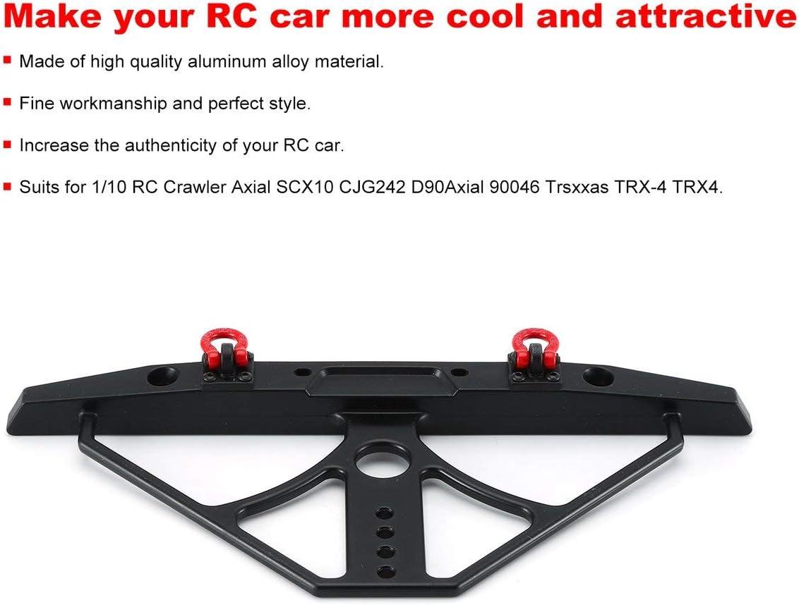 AXIAL SCX10 Kit de Parachoques Delantero y Trasero CNC Bull Bar ...