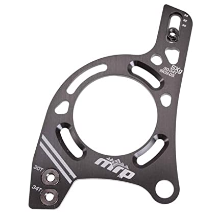 New MRP SXg Alloy Chain Guide 30-34T ISCG-05 Black