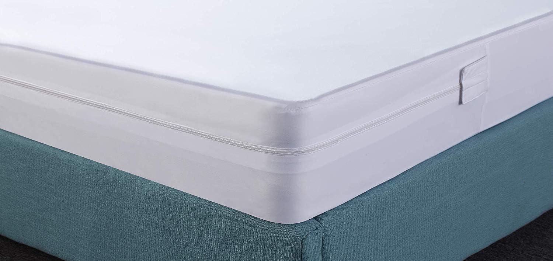 140 x 200 cm Utopia Bedding Premium Zippered Waterproof Mattress Encasement Bed Bug and Dust Mite Proof Mattress Cover Ample Zip Opening