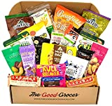 Premium GLUTEN FREE and DAIRY FREE Healthy Snacks Care Package (20 Ct): Bars, Chips, Crispy Fruit, Nuts Trail Mix, Gift...