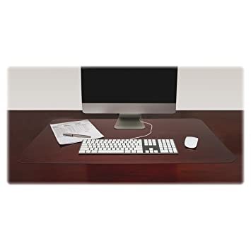 clear office desk. LLR39650 Lorell Desk Pad, 20 X 36 Inches, Clear Office