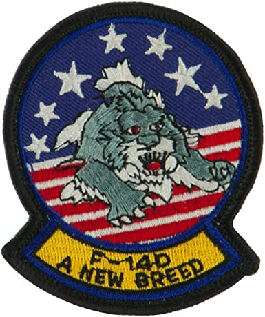 US UNITED STATES MILITARY TOMCAT EMBROIDERED BADGE PATCH