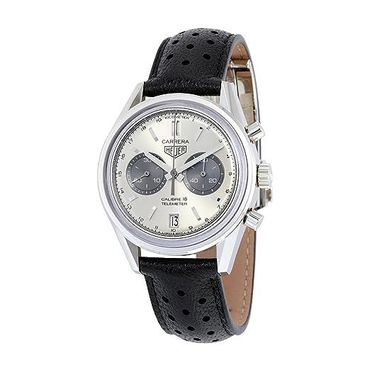 FC6353_wt Reloj de pulsera para hombre: TAG Heuer: Amazon.es: Relojes