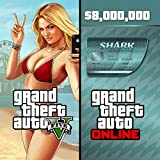 Grand Theft Auto V & Megalodon Shark Card Bundle - PS3 [Digital Code]