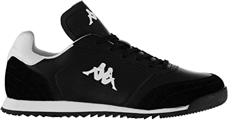 Kappa más denso Zapatillas Deportivas para Hombre Negro/Blanco Deporte Zapatos Zapatillas calzado, negro/blanco: Amazon.es: Deportes y aire libre