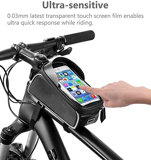HH-HK Bolsa Manillar con Soporte Móvil para Telefono Bicicleta ...