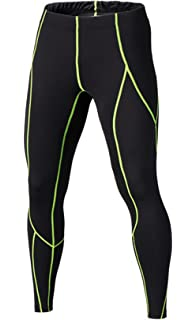 917d14b7df Compression Pants - Men's Tights Base Layer Leggings, Best Running/ Workout