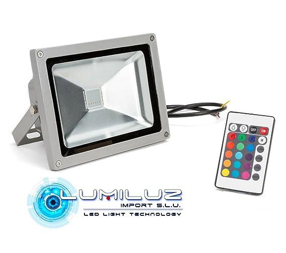 Proyector Led 50W RGB 4500 Lúmenes con efecto memoria de ...