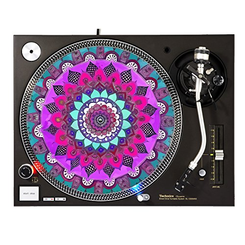 Slipmats Design (Paint Chakra - DJ Turntable Slipmat)