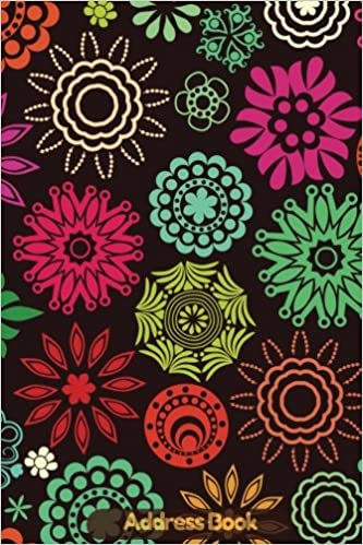 amazon in buy address book jam background floral cover design for
