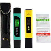 XCSOURCE 3In1 Tds+Ec+Temp Meter And Ph Meter With Auto Calibration Button, Digital Accuracy Water Quality Monitor Pen Style Portable Tester