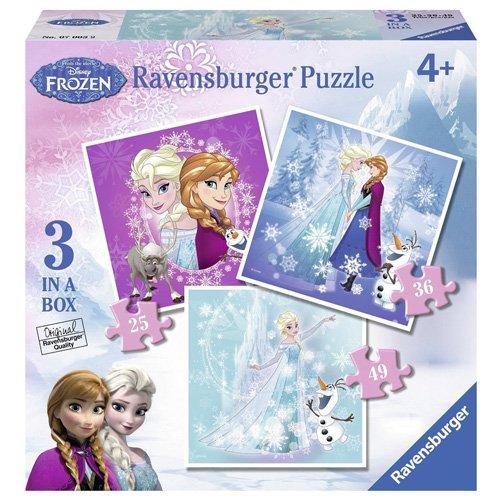 6 opinioni per Ravensburger 07003- Disney Frozen 3