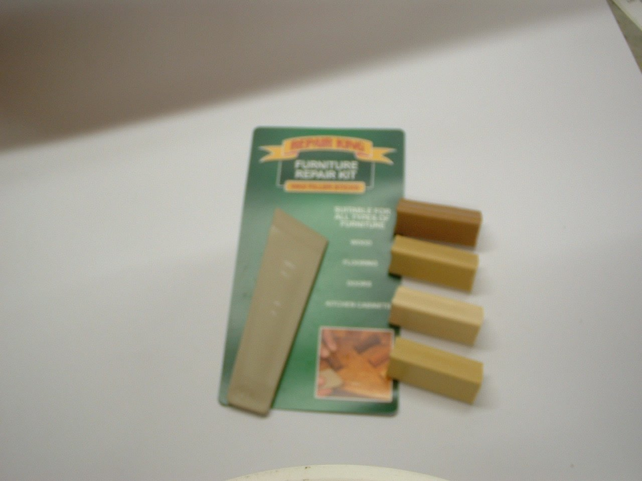 furniture repair kit. 1 x laminate floor worktop furniture repair kit (l) for beech, light warm honey ash, birch, oak, maple, pine, medium s