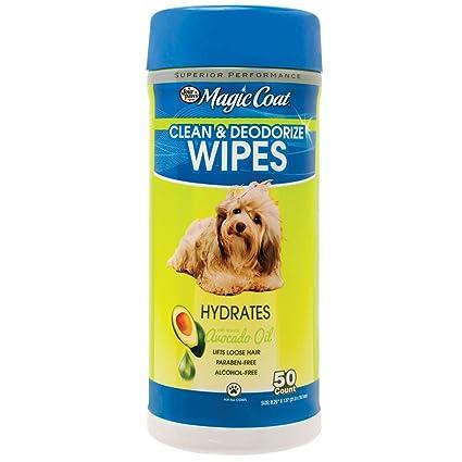 Four Paws Magic Coat Essential - Toallitas de aceite