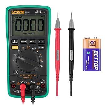 Auto Digital Multimeter, 890 A, 6000 zählt, AC/DC Spannung TESTER ...