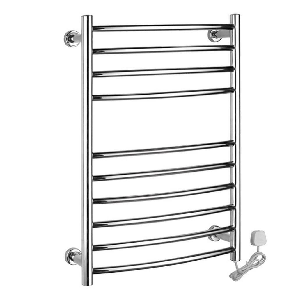 Wall Mounted Stainless Steel Electric Heated Towel Rail / Bathroom Radiator / Towel Warmer 9003