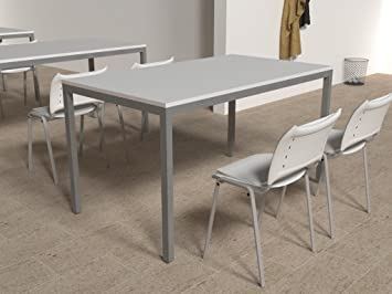 Oficit table de bureau cm blanc amazon fournitures