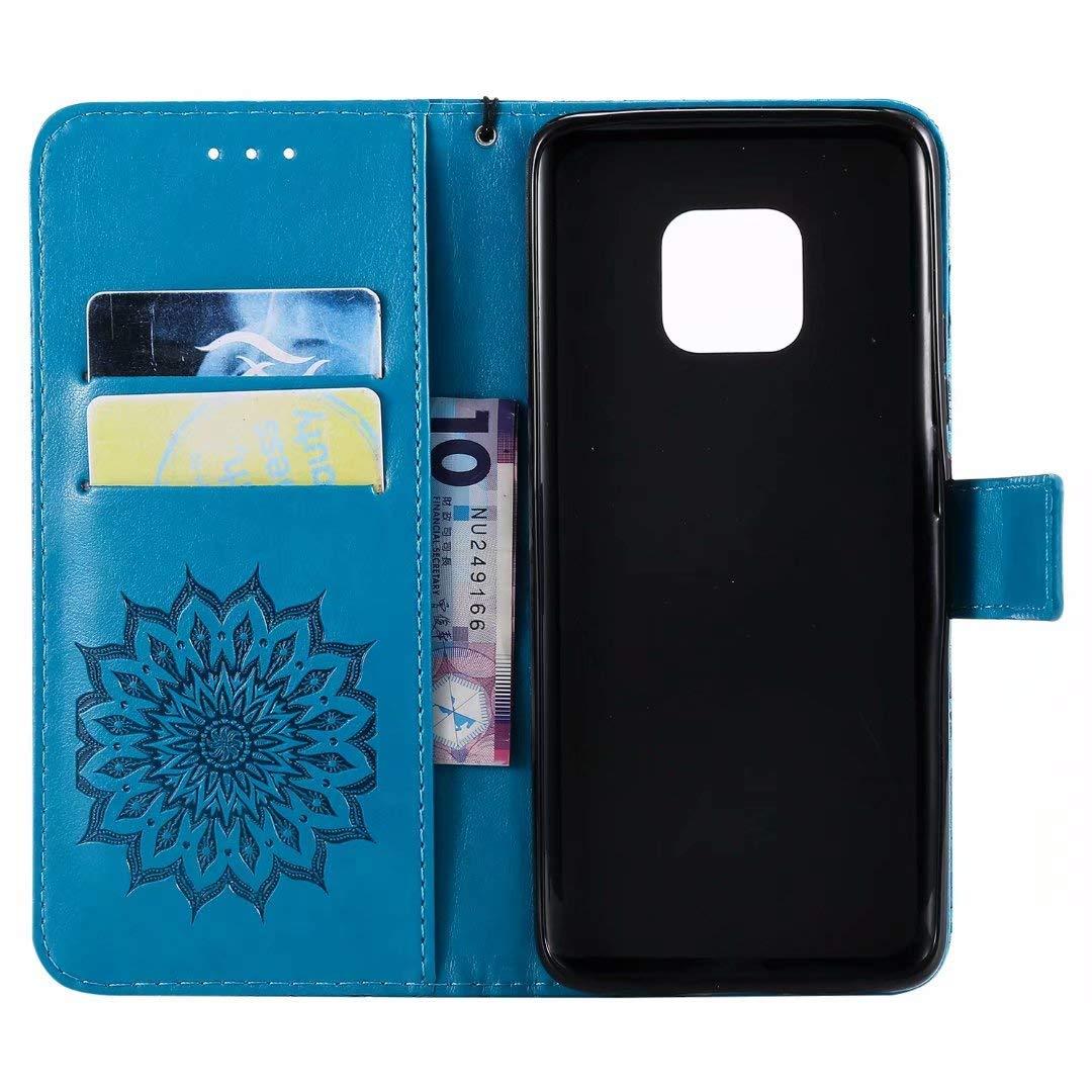 Hancda H/ülle f/ür Huawei Mate 20 Pro Handytasche Handyh/ülle Flip Case H/üllen Leder Schutz Tasche Lederh/ülle Geldb/örse mit Kartenfach Magnet Cover f/ür Huawei Mate 20 Pro Nicht f/ür Mate 20