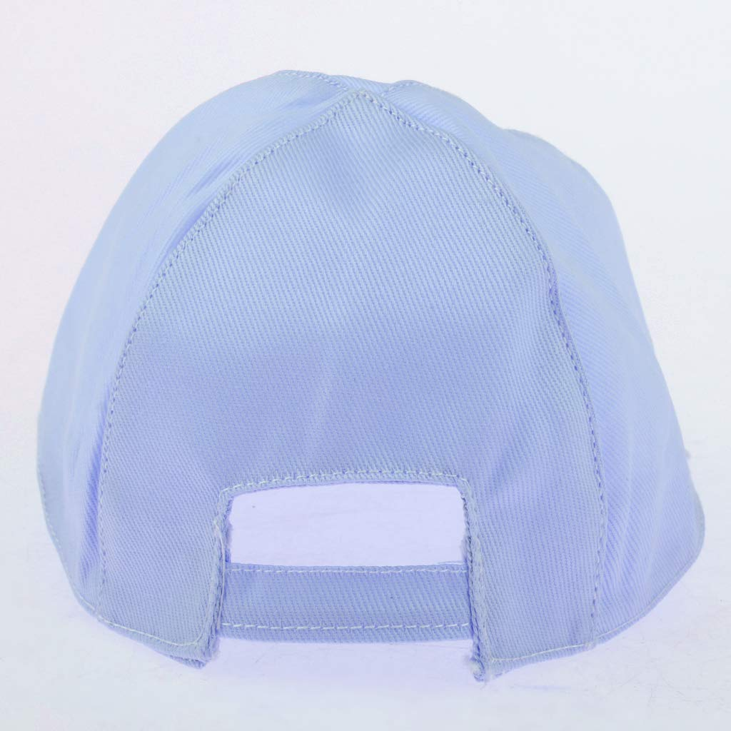 Blau D DOLITY Miniatur Puppe Baseball Kappen Basecap F/ür 20 cm Puppen Bekleidung Zubeh/ör