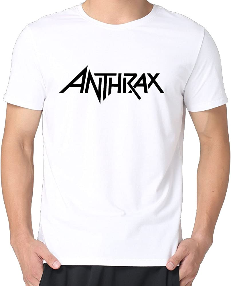 Kiollp Anthrax Band Logo Men S Fashion Shirts