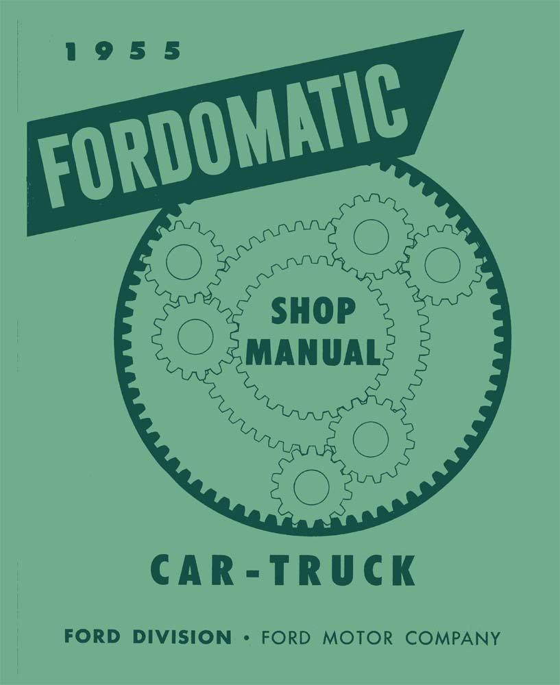 1955 ford f100 manual transmission
