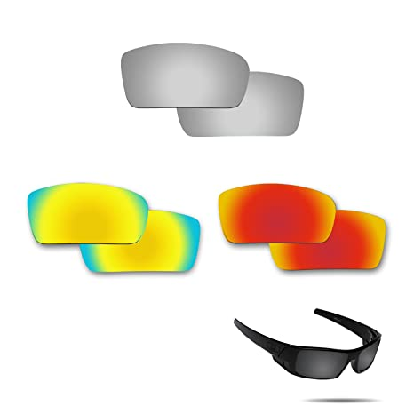 be84cfc3a704 Image Unavailable. Image not available for. Color  Fiskr Anti-Saltwater  Polarized Replacement Lenses for Oakley Gascan Sunglasses ...