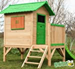 Chestnut Tower Wooden Playhouse - Chi...