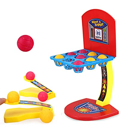 STOBOK Mini Juego de Disparos de Baloncesto Mesa de Juegos de ...