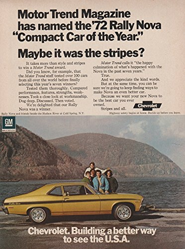 1972 CHEVROLET RALLY NOVA COUPE