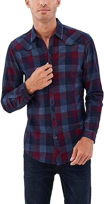 Camisa Salsa Birmingham Corduroy Slim: Amazon.es: Ropa y accesorios