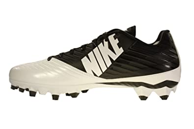 39194b68e647 Nike Men s Vapor Speed Low TD Football Cleat Black White Black Size 12 M