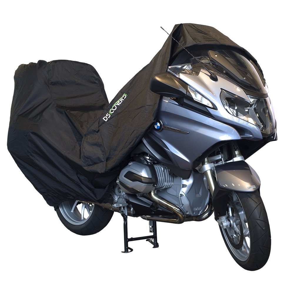 DS Covers 73160613 ALFA Topcase Motorcycle Cover, Black, XXL