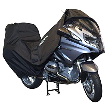 XXL Black DS Covers 73160613 ALFA Topcase Motorcycle Cover